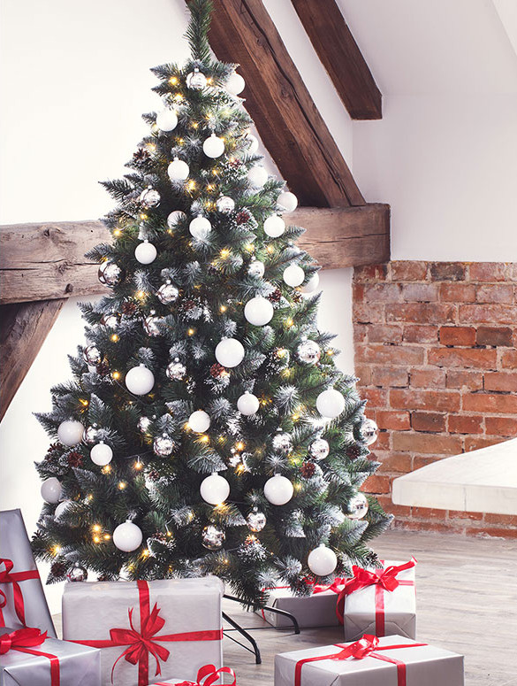 Foto Alberi Di Natale Classici.Decorazioni Natalizie Fairytrees