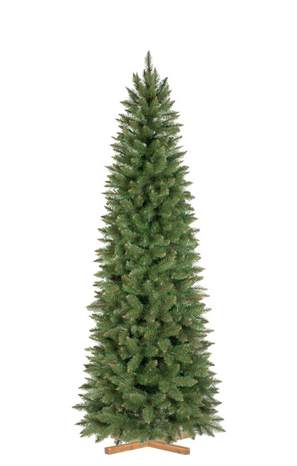 Albero Di Natale Diametro 90.Albero Di Natale Artificiale Abete Naturale Slim Fairytrees