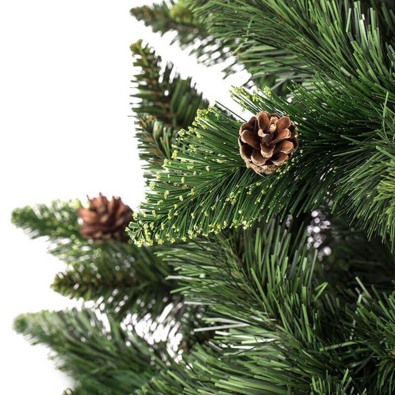 Albero di Natale artificiale Pino naturale verde