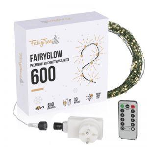 Luci di Natale LED FairyGlow 600